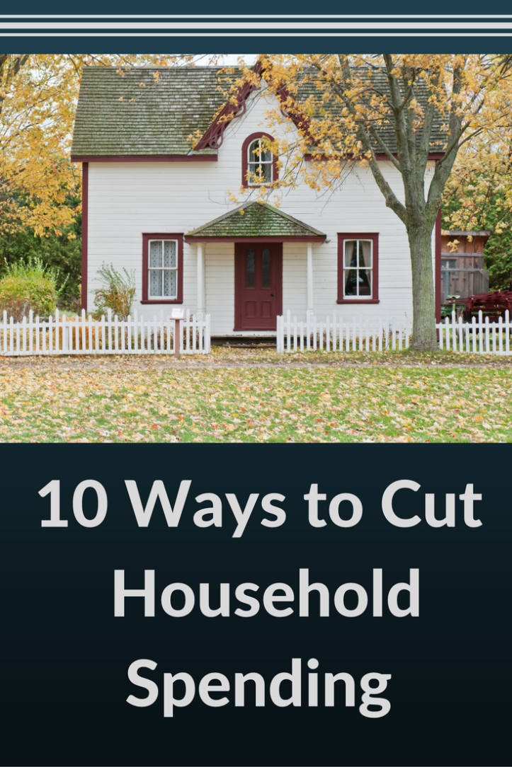 10 Ways to Cut Household Spending